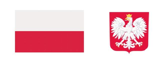 Flaga Polski, godło